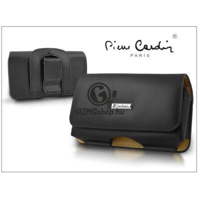 Pierre Cardin Business vízszintes, csatos-fűzős, különleges minőségű tok mobiltelefonhoz – TS7 méret