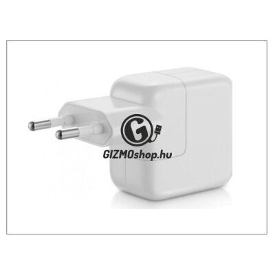 Apple iPhone 3G/3GS/4/5/iPad2/iPad3/iPad Air USB hálózati töltő adapter – 5V/2,4A – 12 W – MD836ZM/A (csomagolás nélküli)