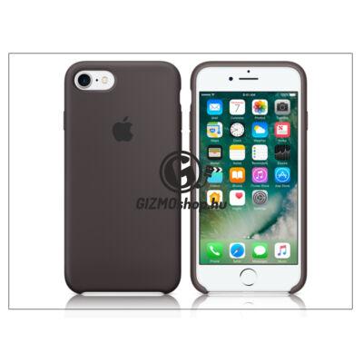 Apple iPhone 7 eredeti gyári szilikon hátlap – MMX22ZM/A – cocoa