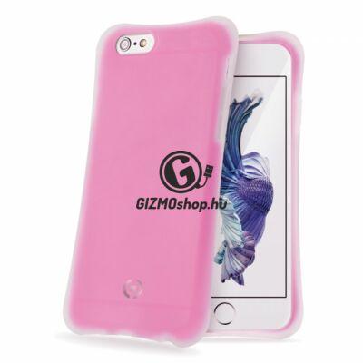Celly iPhone 6/6S ütésálló szilikon hátlap,Pink