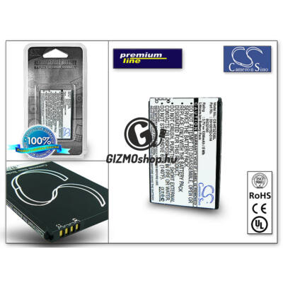 HTC Incredible S akkumulátor – (BA S520 utángyártott) – Li-Ion 1350 mAh – PRÉMIUM