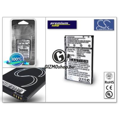 HTC A6363/Legend akkumulátor – Li-Ion 1200 mAh – (BA S520 utángyártott) – PRÉMIUM