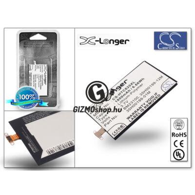 HTC Windows Phone 8X akkumulátor – (BM23100 utángyártott) – Li-Ion 1800 mAh – X-LONGER