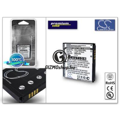 LG GD510/GD510 POP akkumulátor (LGIP-470NA) – Li-Ion 800 mAh – PRÉMIUM