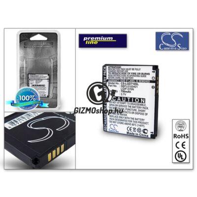 LG BL20/GM310/GM330/GD710 akkumulátor (LGIP-570N) – Li-Ion 750 mAh – PRÉMIUM