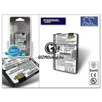 LG KE800 akkumulátor (LGLP-GBDM)- Li-Ion 750 mAh – PRÉMIUM