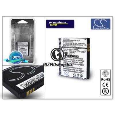 LG KE820/KE850 akkumulátor (LGIP-A750) – Li-Ion 750 mAh – PRÉMIUM