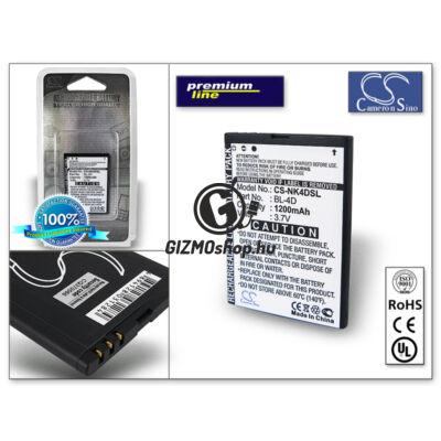 Nokia N97 mini/E5–00/E7–00 akkumulátor – Li-Ion 950 mAh – (BL-4D utángyártott) – PRÉMIUM