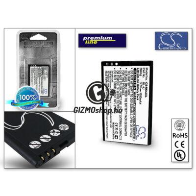 Nokia C6–00/Lumia 620 akkumulátor – Li-Ion 1200 mAh – (BL-4J utángyártott) – X-LONGER