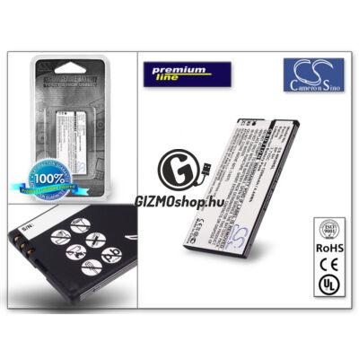 Nokia Lumia 701 akkumulátor – Li-Ion 1200 mAh – (BP-5H utángyártott) – PRÉMIUM