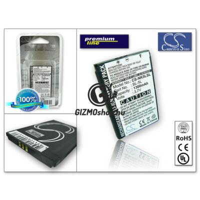 Nokia 9500/7710/E61/N92 akkumulátor – Li-Ion 1300 mAh – (BP-5L utángyártott) – PRÉMIUM
