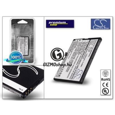 Nokia 808 PureView/N9–00 akkumulátor – Li-Ion 1250 mAh – (BV-4D utángyártott) – PRÉMIUM