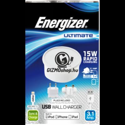 1.Energizer Lightning hálózati töltő szett,EU/UK
