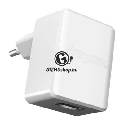 Energizer micro usb hálózati töltő,1usb,1A, Fehér