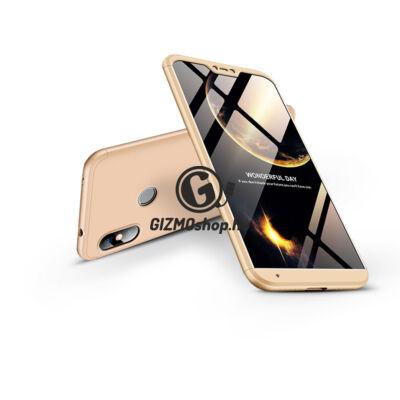 Xiaomi Mi A2 Lite hátlap – GKK 360 Full Protection 3in1 – arany