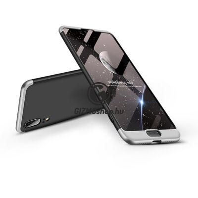 Huawei P20 hátlap – GKK 360 Full Protection 3in1 – fekete/ezüst