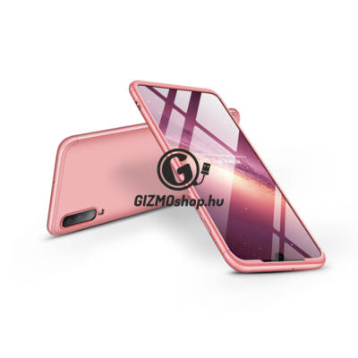 Samsung A705F Galaxy A70 hátlap – GKK 360 Full Protection 3in1 – rose gold