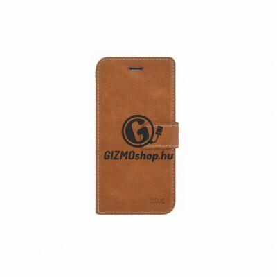Hana Diary flip tok, Samsung Galaxy S10, Barna