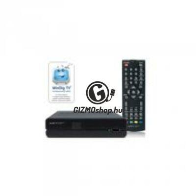 DVB-T vevő és multimédia-lejátszó