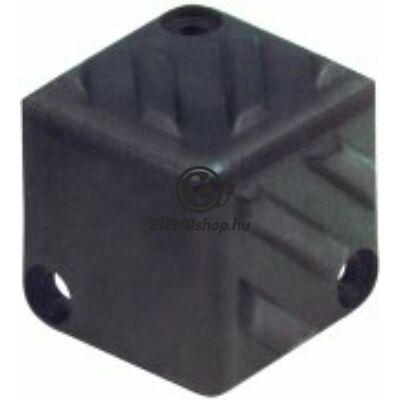 Hangfalsarok, müanyag, 40×40×40mm