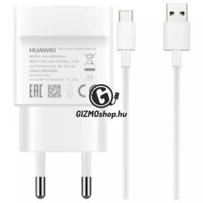 4.Huawei micro USB hálózati töltő, 2A