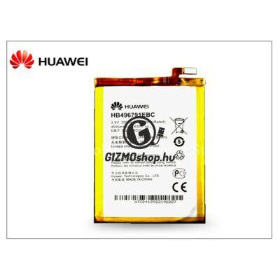 Huawei Ascend Mate/Mate 2 gyári akkumulátor – Li-polymer 3900 mAh – HB496791EBC (csomagolás nélküli)