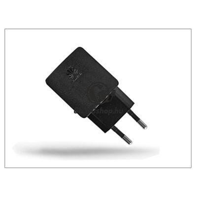 Huawei gyári USB hálózati töltő adapter – 5V/1A – HW-050100E2W black (csomagolás nélküli)