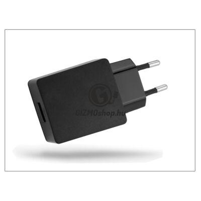 Huawei gyári USB hálózati töltő adapter – 5V/2A – HW-050200E3W black (csomagolás nélküli)