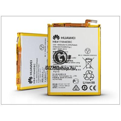 Huawei Ascend Mate 7 gyári akkumulátor – Li-polymer 4000 mAh – HB417094EBC (csomagolás nélküli)