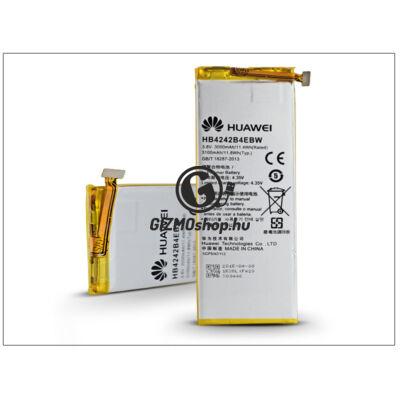 Huawei/Honor 6 gyári akkumulátor – Li-polymer 3000 mAh – HB4242B4EBW (csomagolás nélküli)