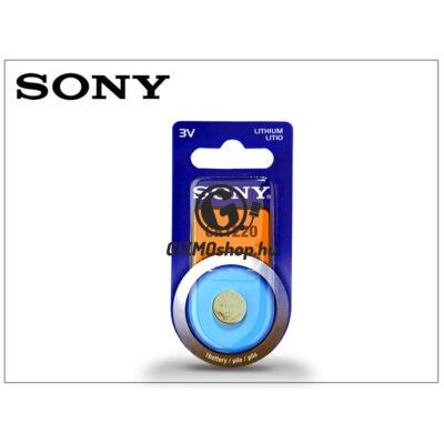 Sony CR1220 lithium gombelem – 3V – 1 db/csomag