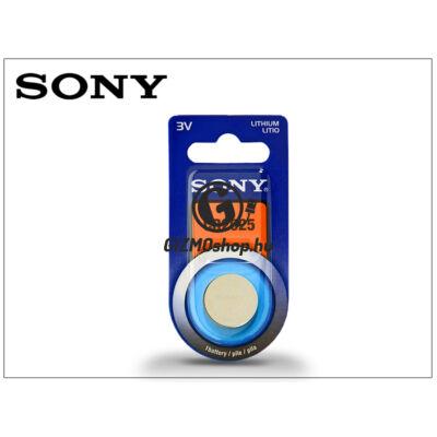 Sony CR2025 lithium gombelem – 3V – 1 db/csomag