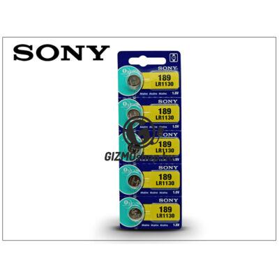 Sony LR1130 Alkaline gombelem – 1,5V – 5 db/csomag