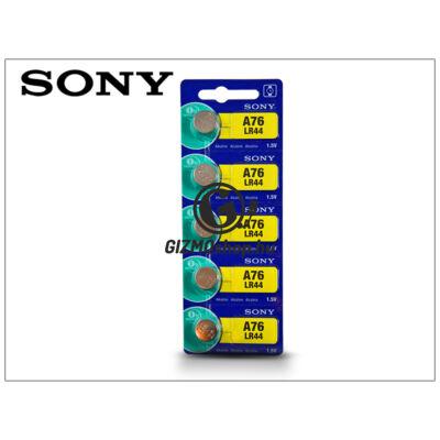 Sony LR44 Alkaline gombelem – 1,5V – 5 db/csomag