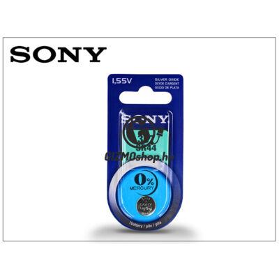 Sony SR44 Silver Oxide gombelem – 1,55V – 1 db/csomag