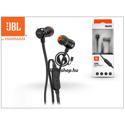 JBL univerzális sztereó fülhallgató – 3,5 mm jack – JBL T290 In-Ear Headphones – black