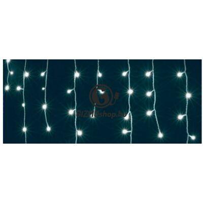 LED-es jégcsap fényfüggöny, 8 programos, 10m, IP44, 230V