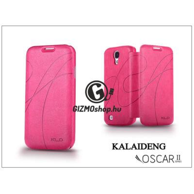 Samsung i9500 Galaxy S4 flipes tok – Kalaideng Oscar 2 Series – dark pink