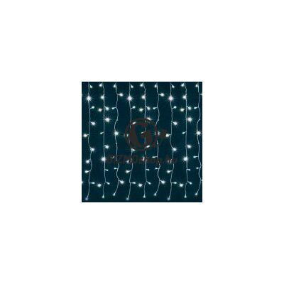 LED-es fényfüggöny, 0,9×1,4m, 230V