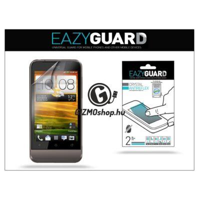 HTC One V képernyővédő fólia – 2 db/csomag (Crystal/Antireflex)