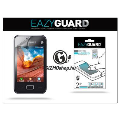 Samsung S5220 Star 3//S5222 képernyővédő fólia – 2 db/csomag (Crystal/Antireflex)