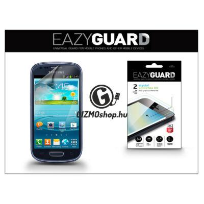 Samsung i8190 Galaxy S III mini képernyővédő fólia – 2 db/csomag (Crystal/Antireflex HD)