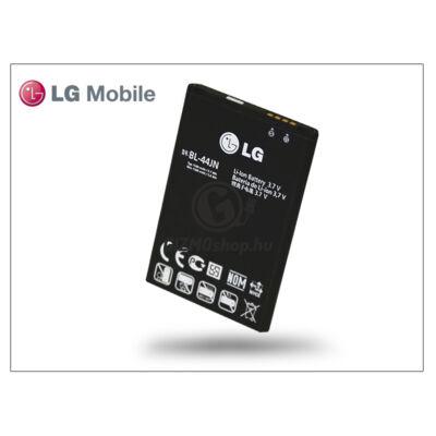 LG P970 Optimus Black/E400 L3/E610 L5 gyári akkumulátor – Li-ion 1540 mAh – BL-44JN (csomagolás nélküli)