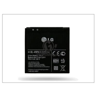 LG P350 Optimus ME gyári akkumulátor – Li-ion 1700 mAh – BL-49PH (csomagolás nélküli)