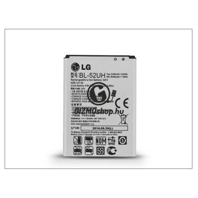 LG D320 L70/D280 L65 gyári akkumulátor – Li-ion 2100 mAh – BL-52UH (csomagolás nélküli)