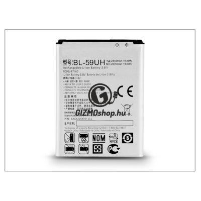 LG D620 G2 Mini gyári akkumulátor – Li-ion 2440 mAh – BL-59UH (csomagolás nélküli)