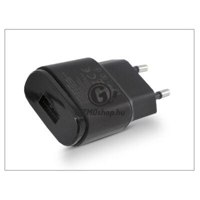 LG gyári USB hálózati töltő adapter – 5V/1,8A – MCS-04ER black (csomagolás nélküli)