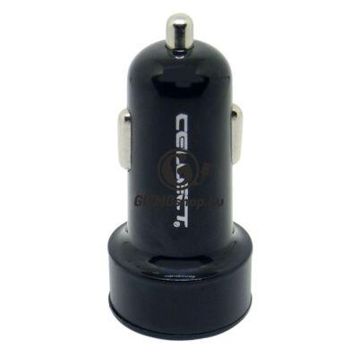 2.Autós töltő adapter 2 USB csatalkozóval, 3.1A