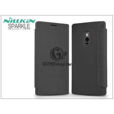 OnePlus 2 (A2001) oldalra nyíló flipes tok – Nillkin Sparkle – fekete