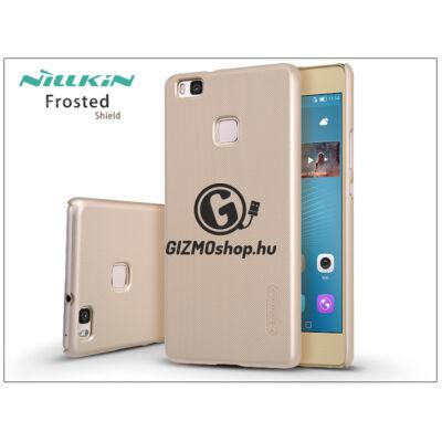 Huawei P9 Lite hátlap képernyővédő fóliával – Nillkin Frosted Shield – gold